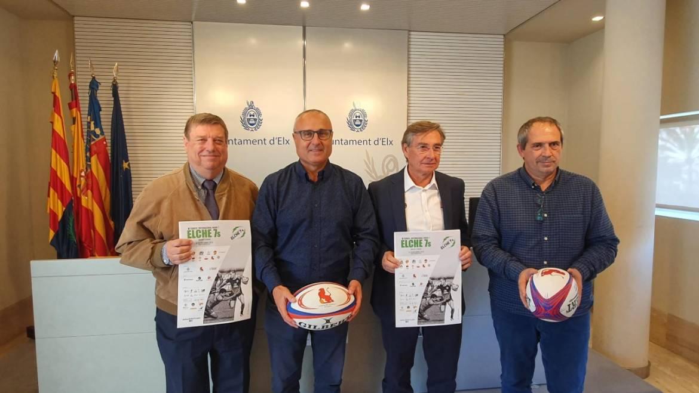 Elche se convierte en la capital europea del Seven con la celebración del quinto Torneo Internacional de Rugby 7
