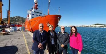 Elx viatja al Pol Sud amb l'expedició del vaixell d'investigació oceanogràfic 'Hespérides'