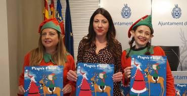 Papá Noel y sus elfos visitarán mañana las calles de Elche para felicitar la Navidad a los ilicitanos