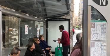 El alcalde anuncia que en 2023 el 50% de los autobuses urbanos serán híbridos