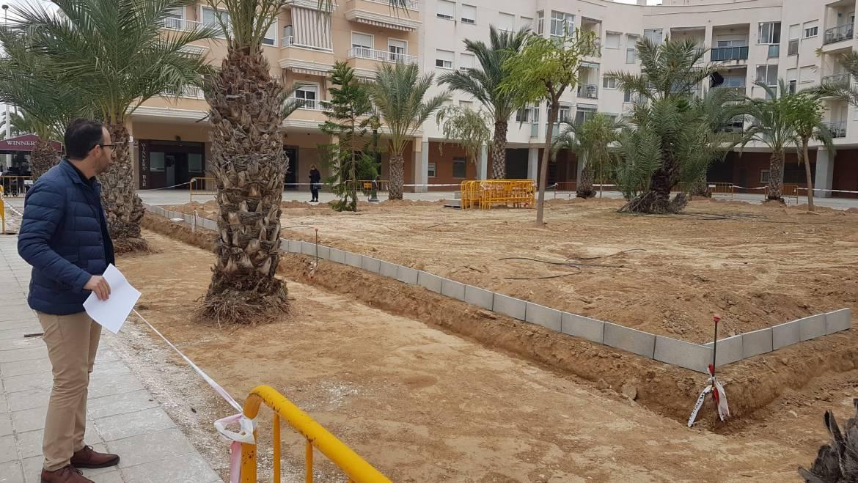 En marcha la renovación de la plaza Profesor Pepe Belso
