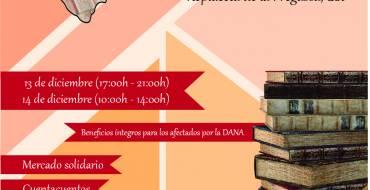 Comercio apoya la II Jornada del Libro Solidario en beneficio a los afectados por la DANA en la Vega Baja