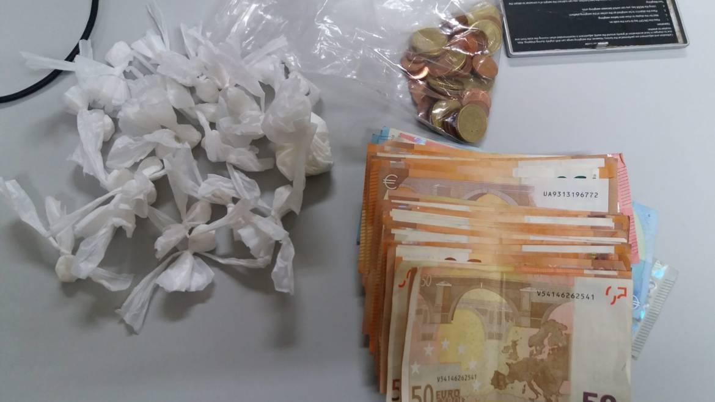 Detingut per tràfic de drogues