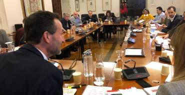 El alcalde presenta los presupuestos al Consejo Social