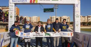 Un miler de persones participa en la VI edició de la 10K Rotary