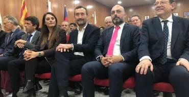 El alcalde de Elche manifiesta el respaldo del Ayuntamiento y su apoyo firme al trasvase Tajo-Segura en la celebración del centenario de Riegos de Levante