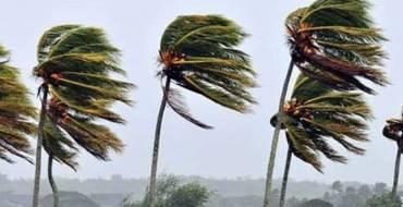 Aviso de riesgos por viento
