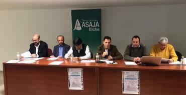 Felip Sànchez destaca que el diálogo constante es fundamental ante los retos que la agricultura ilicitana tiene por delante