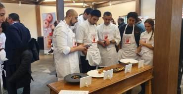 Alfredo Abril, ganador del IX Concurso de Cocina Creativa con Granada Mollar