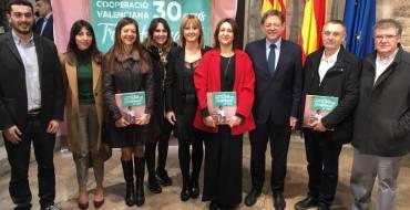"""Mariola Galiana asiste a la presentación del libro Cooperación Valenciana: 30 anys transformant el Món"""""""
