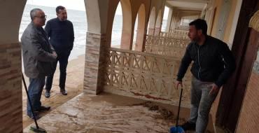 El alcalde de Elche considera que los daños ocasionados por el temporal Gloria en el litoral son 'millonarios'