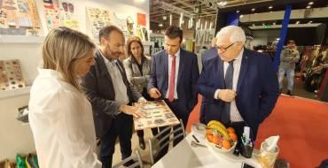 Carles Molina destaca en Lineapelle la apuesta por la calidad de las empresas ilicitanas de componentes para el calzado