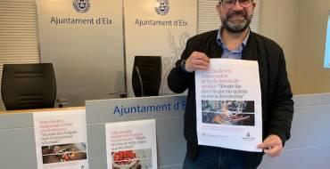 El Ayuntamiento impulsa una campaña para invitar a comprar en el comercio de proximidad con motivo de San Valentín