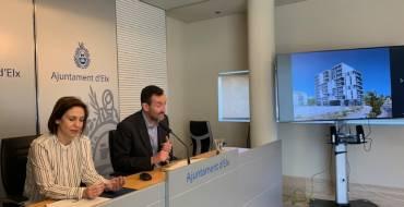 El alcalde presenta el diseño del cuarto bloque del barrio de San Antón