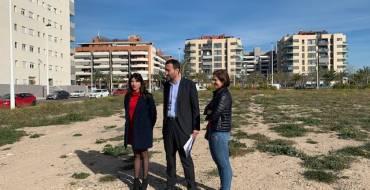 Carlos González define la parcela como perfectamente apta para la construcción del nuevo centro de salud de Altabix