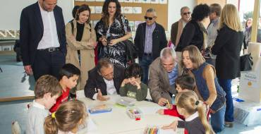 Els Garrofers, preludio de una inversión de 34,3 millones en 15 colegios e institutos de Elche