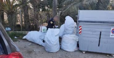 Dieciocho informes denuncia por vertidos varios en enero