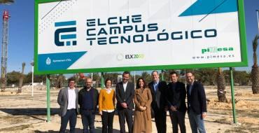 Elche Campus Tecnológico supondrá la creación de 800 puestos de trabajo y propiciará una inversión inducida de 24 millones de euros