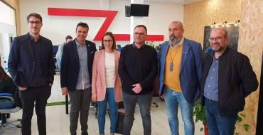 La Conselleria de Economía Sostenible apoya la jornada laboral de 4 días de la empresa ilicitana Zataca Systems