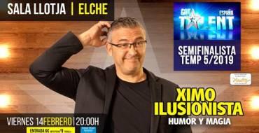 Ximo Ilusionista: «Magia y Humor»