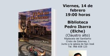 Presentación del libro «El sol en el horizonte» de Jorge Moya Olcina