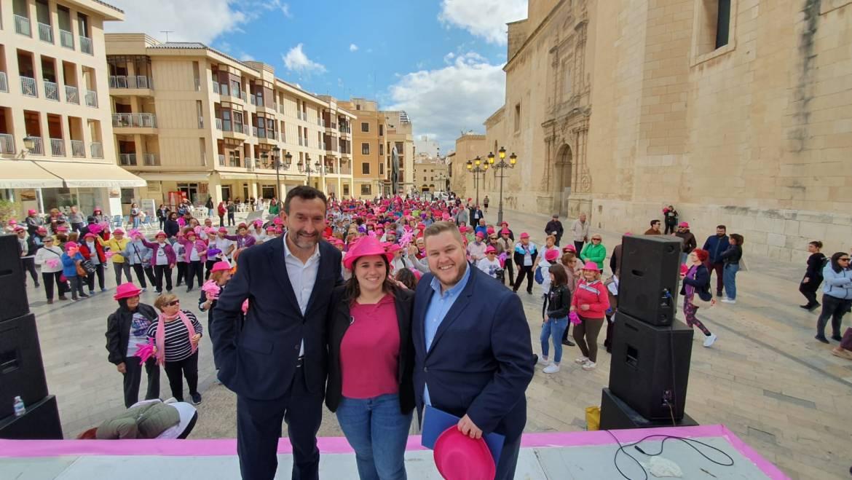 El Ayuntamiento de Elche conmemora el Día Internacional de la Mujer con la lectura de un manifiesto a cargo de Emilia Méndez