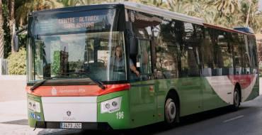 El Ayuntamiento elimina el pago en metálico en el bus urbano y ajusta el bus a pedanías a la reducción de Conselleria