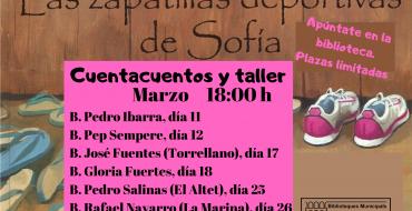 Cuentacuentos y taller en la Biblioteca Infantil Pedro Ibarra
