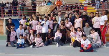 Las Olimpiadas de la Fe reúnen a cerca de trescientas personas en la pista Manolo Jaén