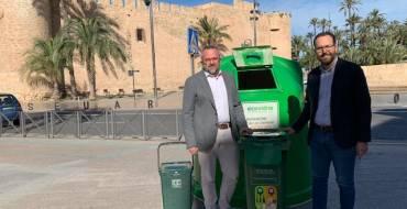 El Ayuntamiento reparte contenedores especiales en los negocios de hostelería para incrementar un 20% el reciclaje de vidrio