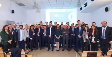 El alcalde de Elche asiste a la primera final autonómica de Global Management Challenge promovida por la Cámara de Comercio de Alicante