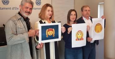 El Concurso del 'emoji' de la Dama de Elche ya tiene ganadoras