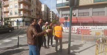 El Ayuntamiento de Elche destina 150.000 euros a la calle Capitán Antonio Mena para la mejora de aceras y la red de abastecimiento de agua potable