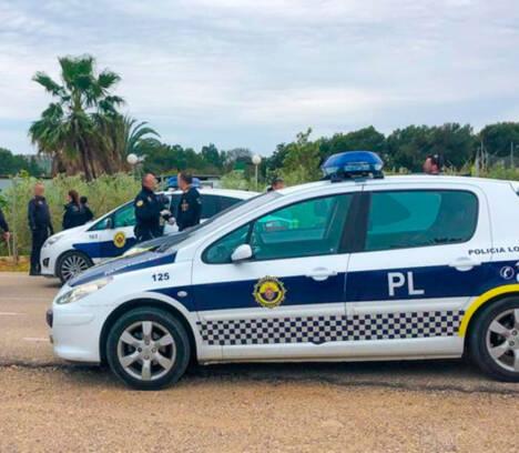 Dos detenidos por presunto tráfico de estupefacientes tras huir de un control de la Policía Local de Elche