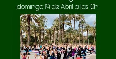 El ioga, ara en línia a través de l'Instagram de l'Associació Practica Ioga Elx