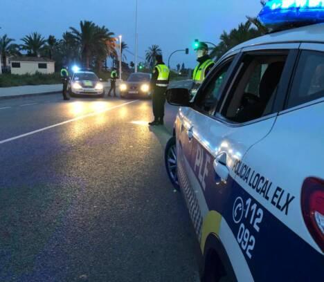 El concejal de Seguridad, Ramón Abad, destaca el elevado nivel de cumplimiento en Elche durante el fin de semana de cierre perimetral del municipio