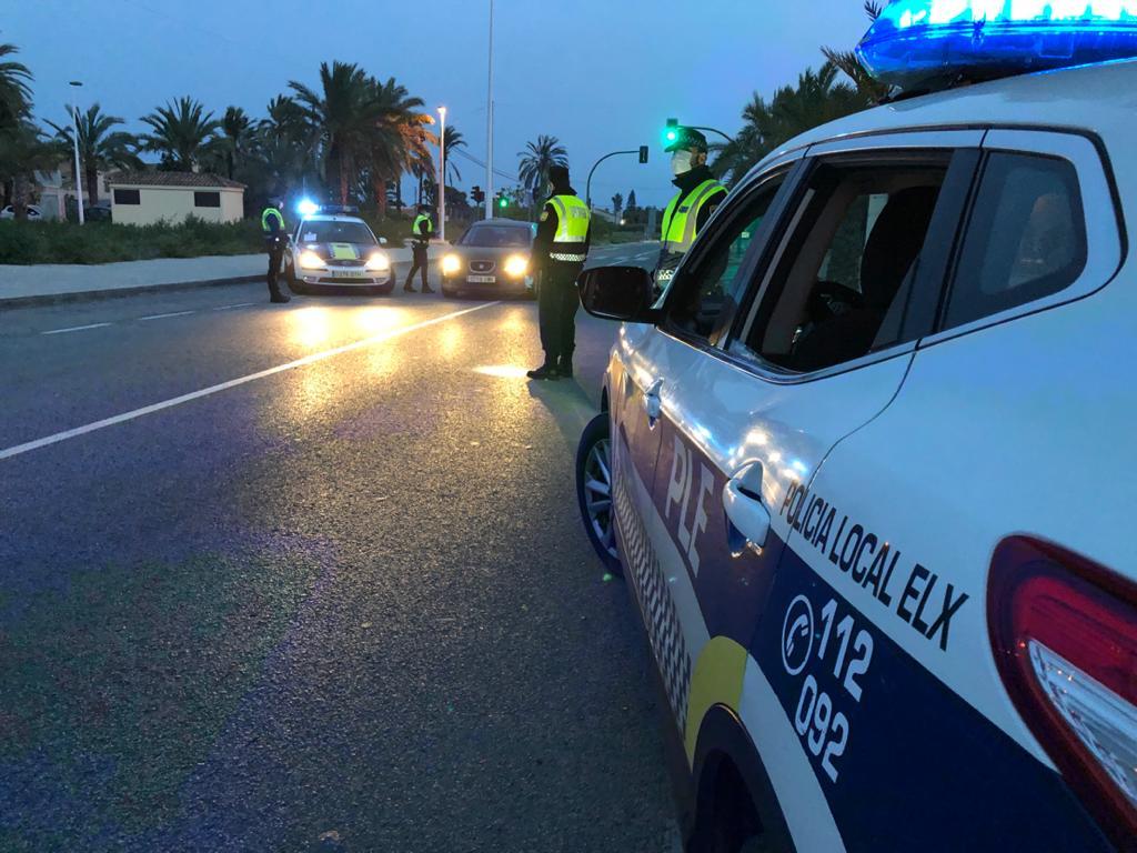 La Policía Local intensifica la vigilancia tras un fin de semana con un repunte en en el incumplimiento de las normas del estado de alarma
