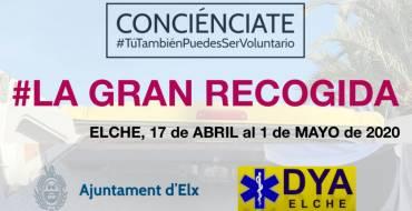"""El Ayuntamiento colabora con los jóvenes voluntarios de """"Conciénciate"""" en la recogida de alimentos en supermercados para las familias más vulnerables"""