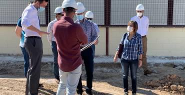 El alcalde espera que los nuevos aularios de La Vallverda y La Galia estén acabados para el inicio del próximo curso