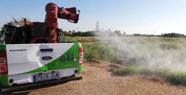 El Ayuntamiento intensifica las fumigaciones por la proliferación de mosquitos a causa de las fuertes lluvias y las altas temperaturas