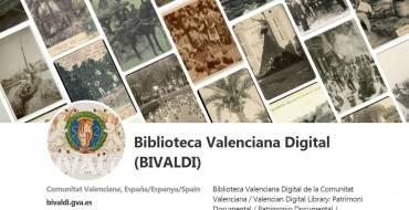 Un lunes de mayo con la Biblioteca Valenciana Digital