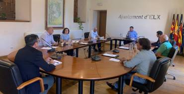 Nuevo contacto entre el Ayuntamiento de Elche y los agentes sociales para impulsar la reactivación económica del municipio