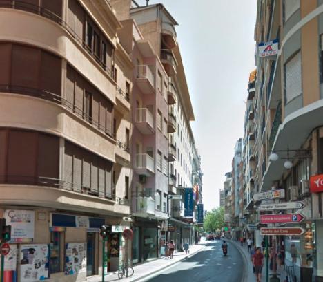 Corte total calle Juan Carlos I