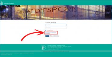 Cambios en el registro de usuarios en la sección de Deportes de elche.es