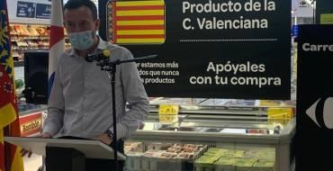"""Carlos González: """"El nacimiento del snack 'Alhajas de la Tierra' es ejemplo del espíritu emprendedor de nuestra ciudad"""""""