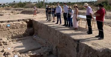 L'Ajuntament d'Elx destina 15.000 euros al jaciment de l'Alcúdia per a impulsar tres campanyes d'excavacions arqueològiques