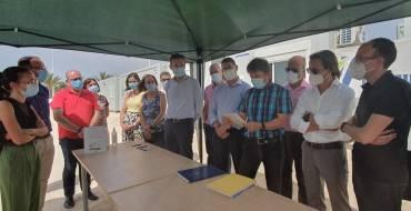 La construcción del instituto Periodista Vicente Verdú permitirá la eliminación de barracones y generará más de 200 puestos de trabajo