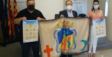 La iniciativa solidaria 'Elche se viste de fiesta' llenará los balcones de luz y color con banderas de Moros y Cristianos