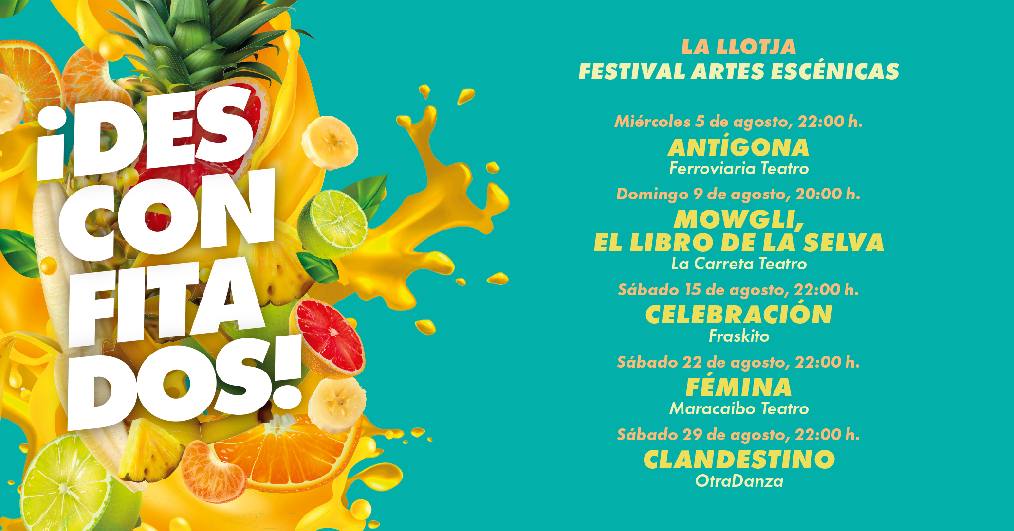 Evento Festival Artes Escénicas