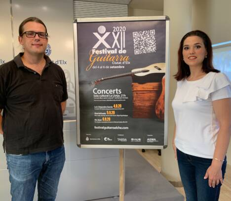 El Festival de Guitarra 'Ciutat d'Elx' se celebrará durante el mes de septiembre
